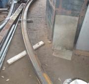 steel cutting bending  rolling section rolling workshop in sri lanka 11
