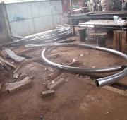 steel cutting bending  rolling section rolling workshop in sri lanka 2
