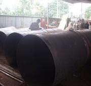 steel cutting bending  rolling section rolling workshop in sri lanka 4