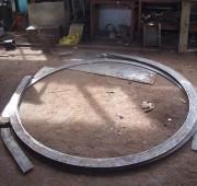steel cutting bending  rolling section rolling workshop in sri lanka 9